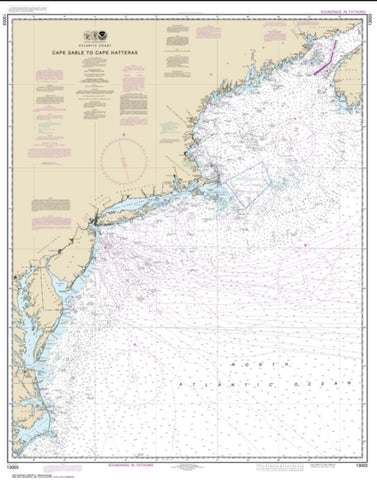 Buy map Cape Sable to Cape Hatteras (13003-51) by NOAA