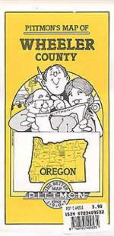 Buy map Wheeler County, Oregon by Pittmon Map Company