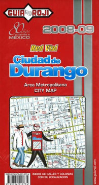 Buy map Durango, Mexico by Guia Roji
