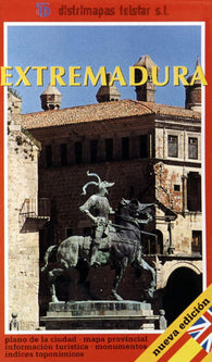 Buy map Extremadura, Spain by Distrimapas Telstar, S.L.
