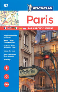 Buy map Paris par Arrondissement (62) by Michelin Maps and Guides