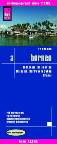 Buy map Borneo, Indonesia by Reise Know-How Verlag