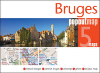 Buy map Bruges, Belgium, PopOut Map by PopOut Products, Compass Maps Ltd.