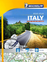 Buy map Italy, Spiral Bound Atlas (1465) by Michelin Maps and Guides