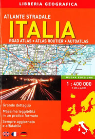 Buy map Italy, Road Atlas by Libreria Geografica