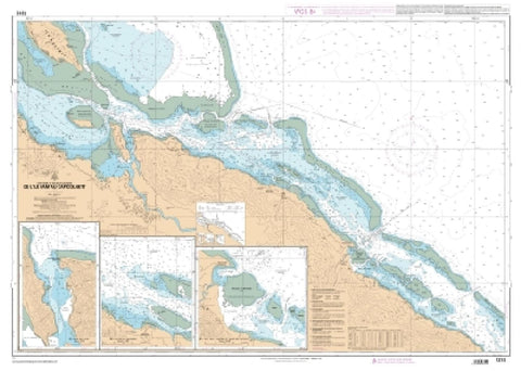Buy map Port de Pouebo et Baie de Tchevit by SHOM