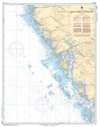 Buy map Bateau Island to/a Byng Inlet by Canadian Hydrographic Service