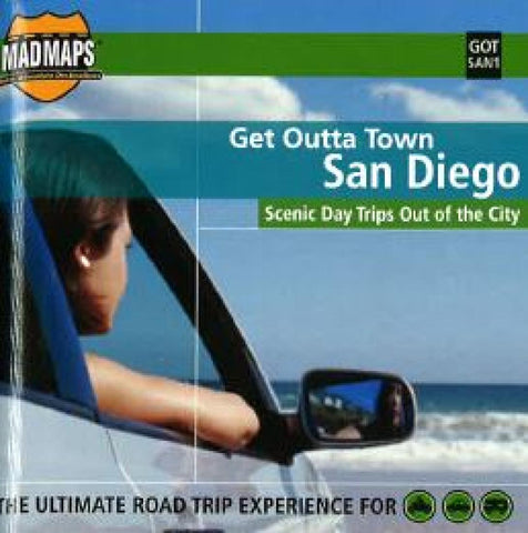 Buy map San Diego, California, Get Outta Town by MAD Maps