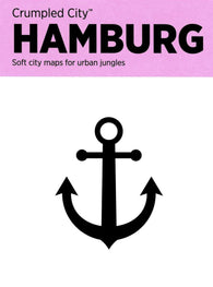 Buy map Hamburg, Germany Crumpled City Map by Palomar S.r.l.