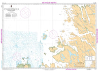 Buy map Approches a/Approaches to Riviere George by Canadian Hydrographic Service