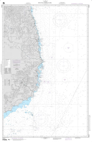 Buy map Mui Ke Ga To Mui Ba Lang (NGA-93022-4) by National Geospatial-Intelligence Agency