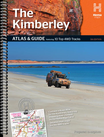 Buy map The Kimberley, Australia, Atlas and Guide, 5th edition by Hema Maps