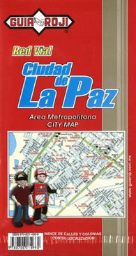 Buy map La Paz, Mexico by Guia Roji