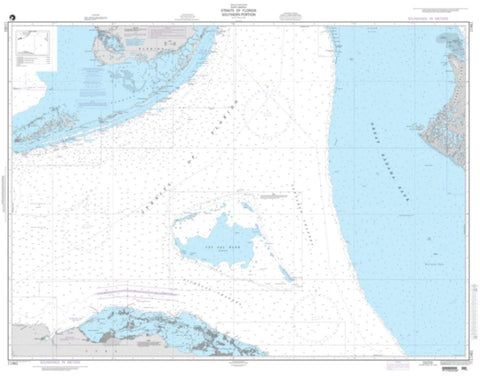Buy map Straits Of Florida - Southern Portion (NGA-11461-5) by National Geospatial-Intelligence Agency