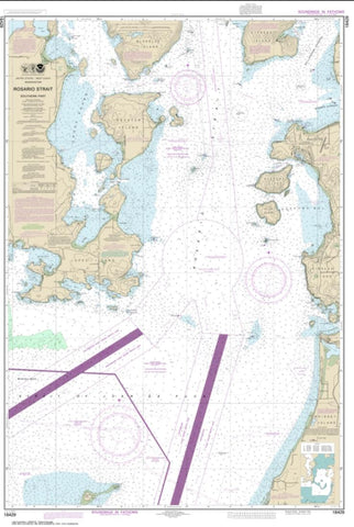 Buy map Rosario Strait-southern part (18429-11) by NOAA