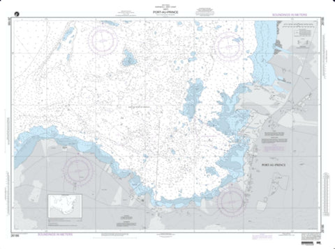 Buy map Port-Au-Prince (NGA-26186-17) by National Geospatial-Intelligence Agency