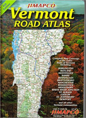 Buy map Vermont, Road Atlas by Jimapco