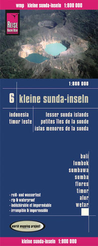 Buy map Lesser Sunda Islands, Indonesia, and Timor-Leste by Reise Know-How Verlag