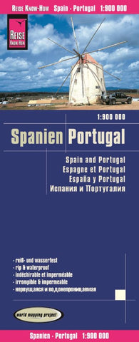 Buy map Spain and Portugal (with Canary Islands) by Reise Know-How Verlag