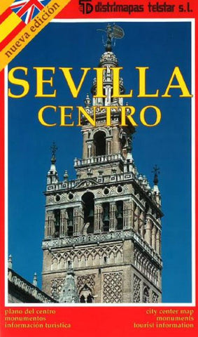 Buy map Seville, Center, Spain by Distrimapas Telstar, S.L.