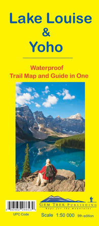 Buy map Lake Louise and Yoho, British Columbia and Alberta, waterproof by Gem Trek