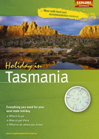 Buy map Holiday in Tasmania by Universal Publishers Pty Ltd