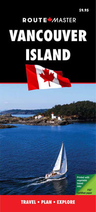 Buy map Vancouver Island, British Columbia, Laminated/Quick Fold by Route Master