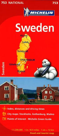 Buy map Sweden (753) by Michelin Maps and Guides
