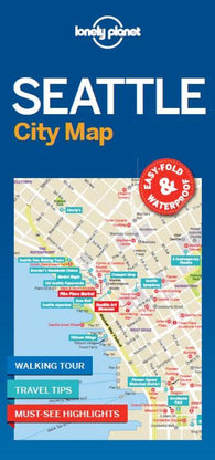 Buy map Seattle City Map by Lonely Planet Publications