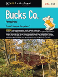 Buy map Bucks County, PA, Street Atlas by Kappa Map Group