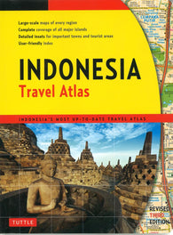 Buy map Indonesia, Travel Atlas by Periplus Editions