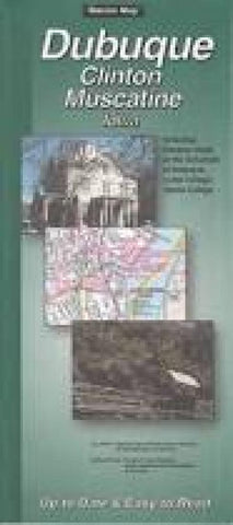 Buy map Dubuque, Clinton and Muscatine, Iowa by The Seeger Map Company Inc.