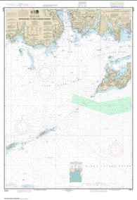Buy map Approaches to New London Harbor (13212-39) by NOAA