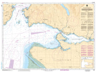 Buy map Approaches to/Approches a Vancouver Harbour by Canadian Hydrographic Service