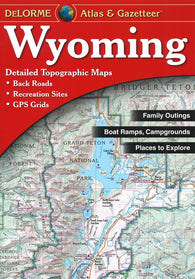 Buy map Wyoming, Atlas and Gazetteer by DeLorme