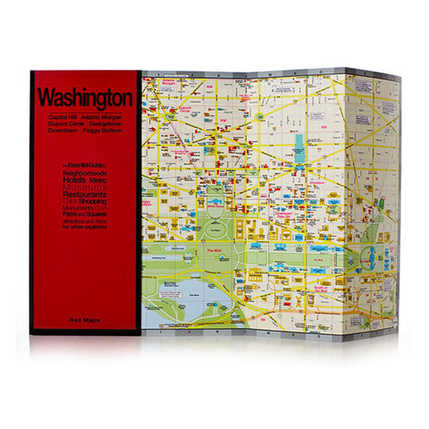 Buy map Washington, DC by Red Maps