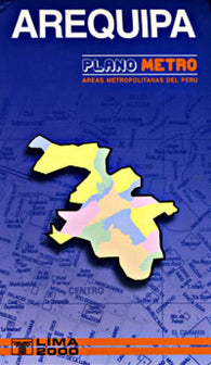 Buy map Arequipa, Peru, Metropolitana by Lima 2000