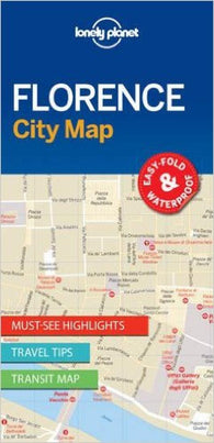Buy map Florence, Italy City Map by Lonely Planet Publications