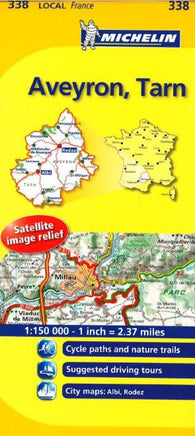 Buy map Aveyron, Tarn (338) by Michelin Maps and Guides
