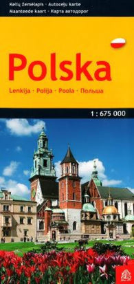 Buy map Poland by Jana Seta