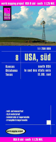 Buy map United States, Southern by Reise Know-How Verlag