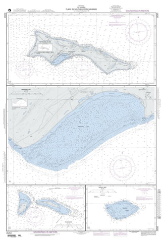 Buy map Plans In Southeastern Bahamas; Plan A: Mayaguana Island (NGA-26263-3) by National Geospatial-Intelligence Agency