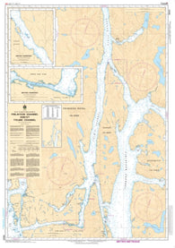 Buy map Finlayson Channel and/et Tolmie Channel by Canadian Hydrographic Service