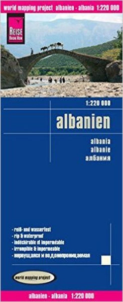 Buy map Albania by Reise Know-How Verlag