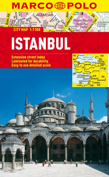 Buy map Istanbul, Turkey by Marco Polo Travel Publishing Ltd