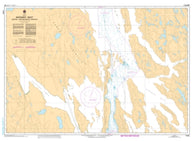 Buy map Bathurst Inlet - Central Portion by Canadian Hydrographic Service