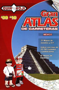 Buy map Mexico Large Road Atlas by Guia Roji