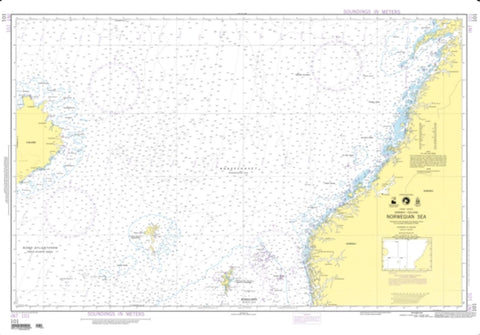 Buy map Norwegian Sea (NGA-101-3) by National Geospatial-Intelligence Agency