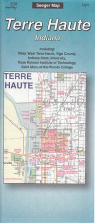 Buy map Terre Haute, Indiana by The Seeger Map Company Inc.