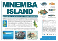 Buy map Mnemba Island, Tanzania by GT Maps